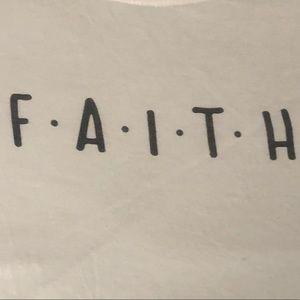 Faith Color block T-Shirt
